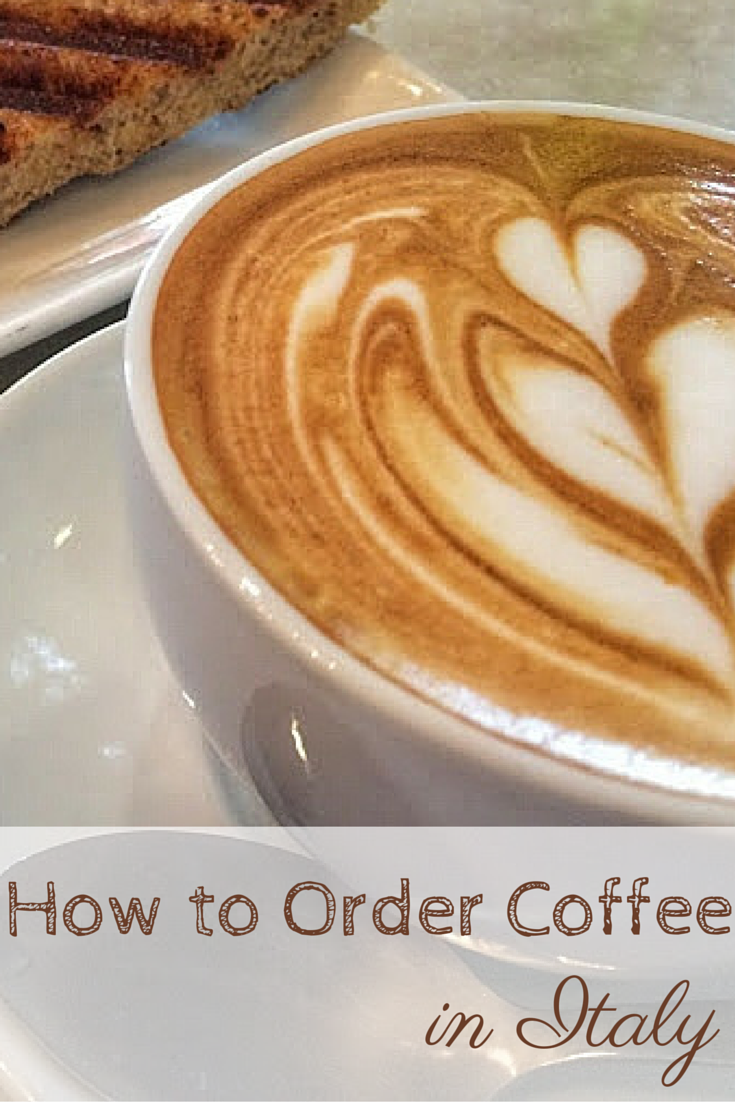 How to Order Coffee in Italy Pinterest
