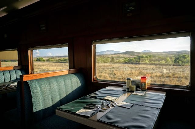 The Copper Canyon Travel Guide train dining