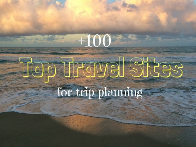 Top Travel Sites for trip planning