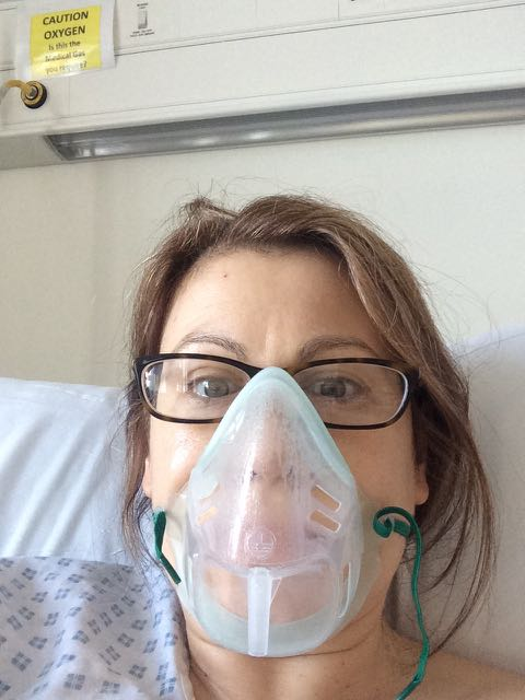 acl repair surgery oxygen