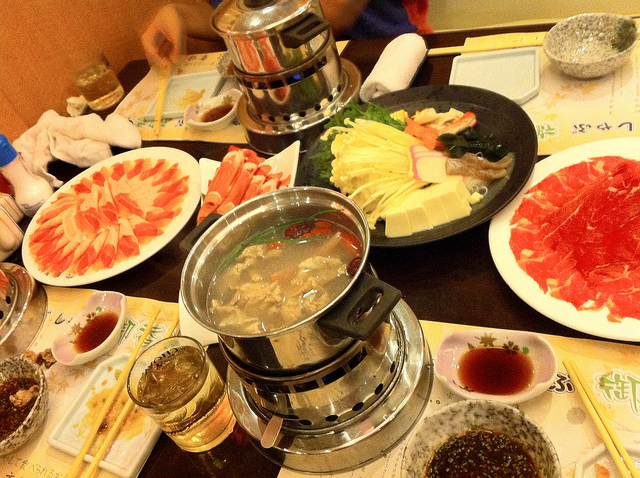 what to eat in Japan Shabu Shabu