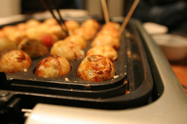 what to eat in Japan Takoyaki