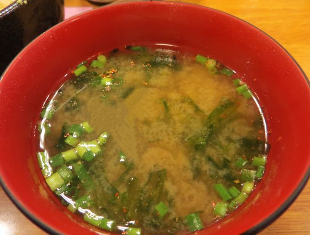 what to eat in Japan miso soup