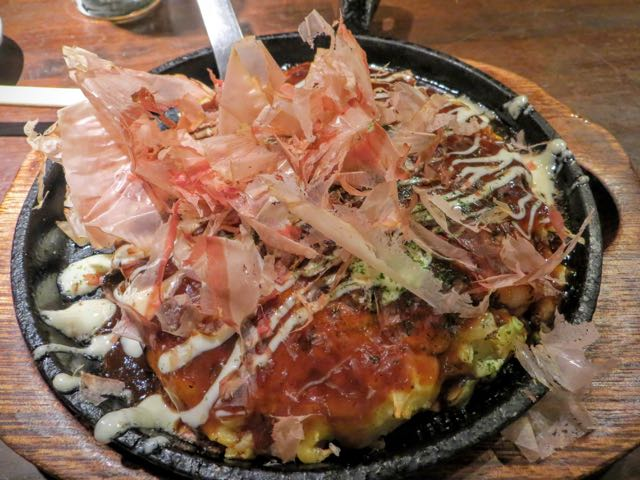 What to eat in Japan Okonomiyaki