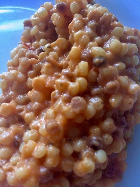 Sardinian Food - fregola
