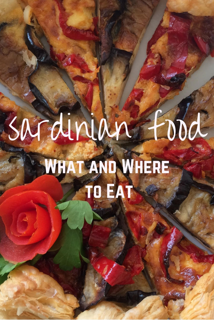 Want to know what Sardinian food to eat? Here's a list and images of what to eat for each course including restaurant recommendations throughout the island.
