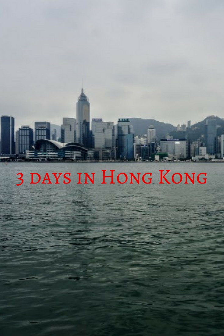 3 days in Hong Kong Pinterest