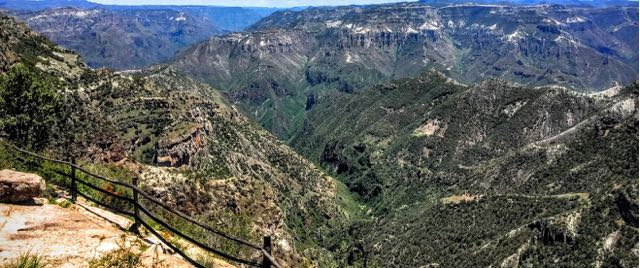 Affordable copper canyon tour itinerary divisidero view