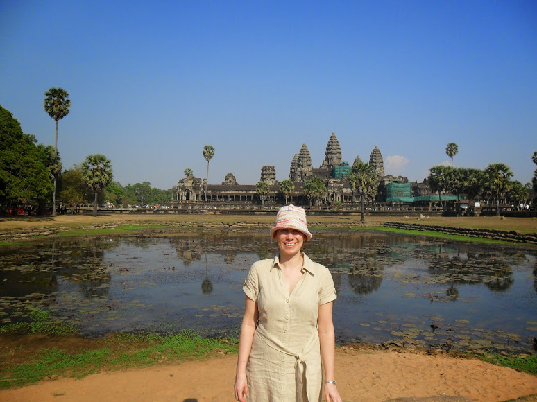 Tonle Sap in Cambodia Angkor Wat