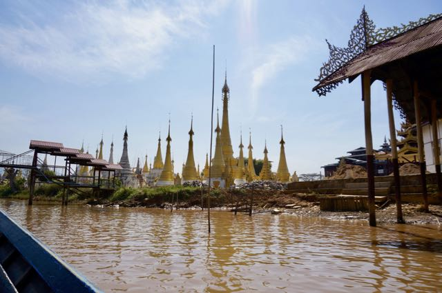 Inle Lake Tour Pagodas