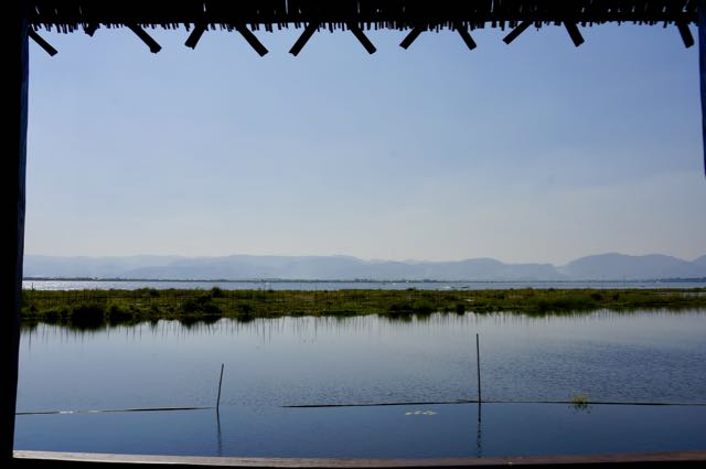 Inle Lake Tour Veranda view