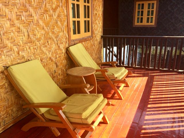 Inle Lake Tour Veranda