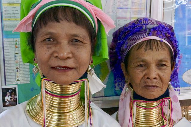 Inle Lake Tour long neck ladies