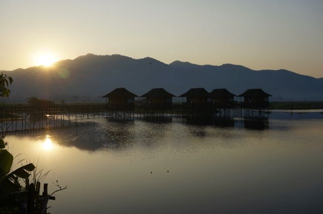 Inle Lake tour sunrise