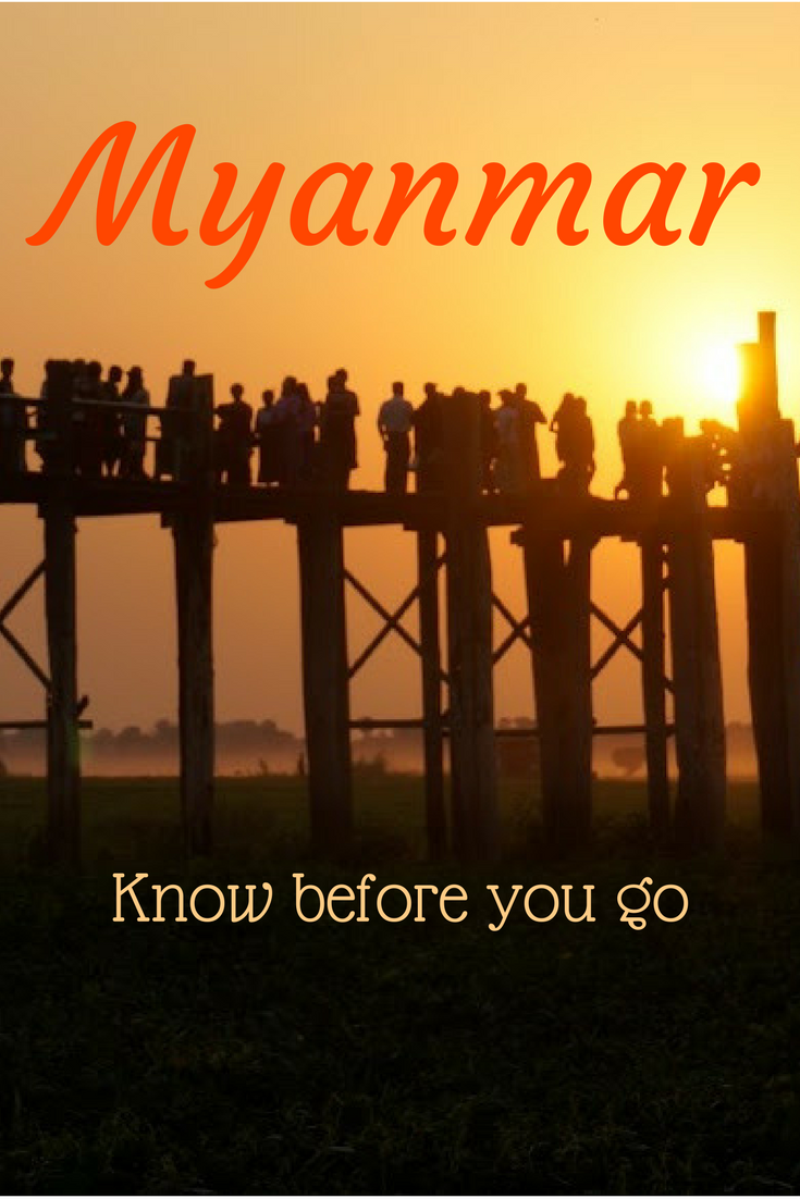 Myanmar travel guide - know before you go Pinterest