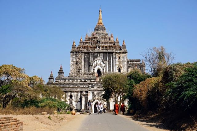 Things to do in Bagan - white temple