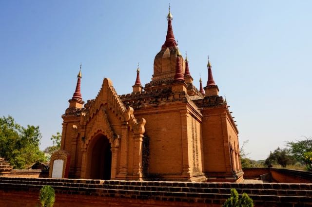 Bagan Pagoda Red