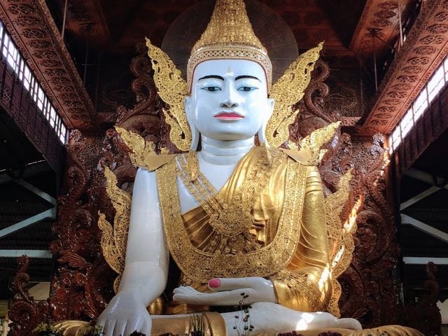 Things to do in Yangon Buddha Nga Gyi Pagoda