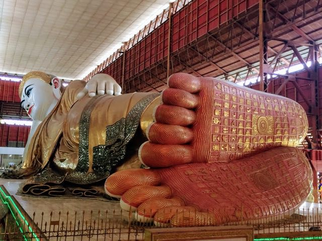Things to do in Yangon Reclining Buddha