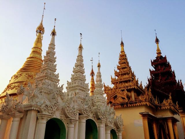 Things to do in Yangon Shwedagon Pagoda temples