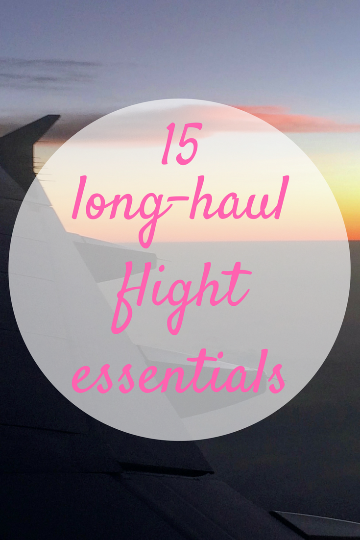 These 15 long haul flight essentials can make the difference between a comfortable long haul flight and hours of discomfort and frustration mid-air.