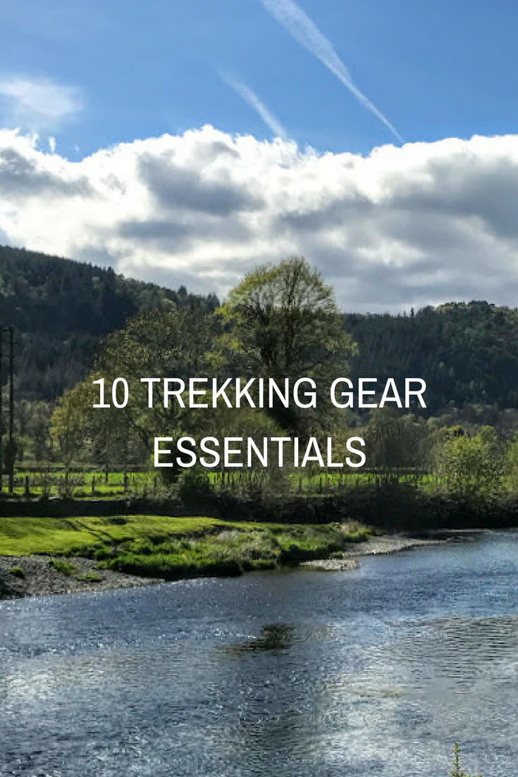 10 Trekking Gear Essentials to pack for every long hike or backpacking trip