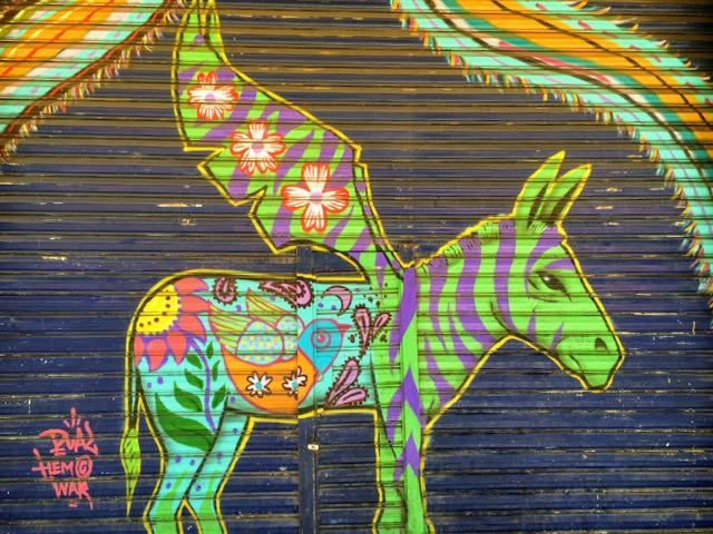 Baja California Road Trip Itinerary Street Art in Tijuana