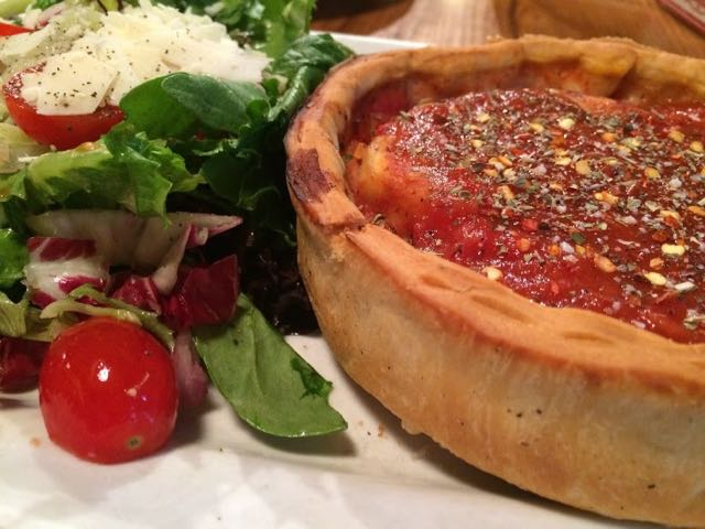Where is the Best Deep Dish Pizza in Chicago