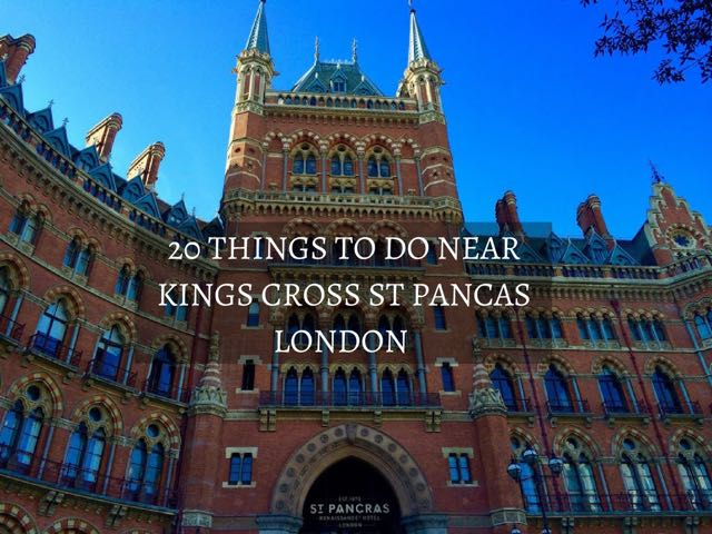 London Points Of Interest Map.20 Things To Do Near Kings Cross St Pancras In London Indiana Jo