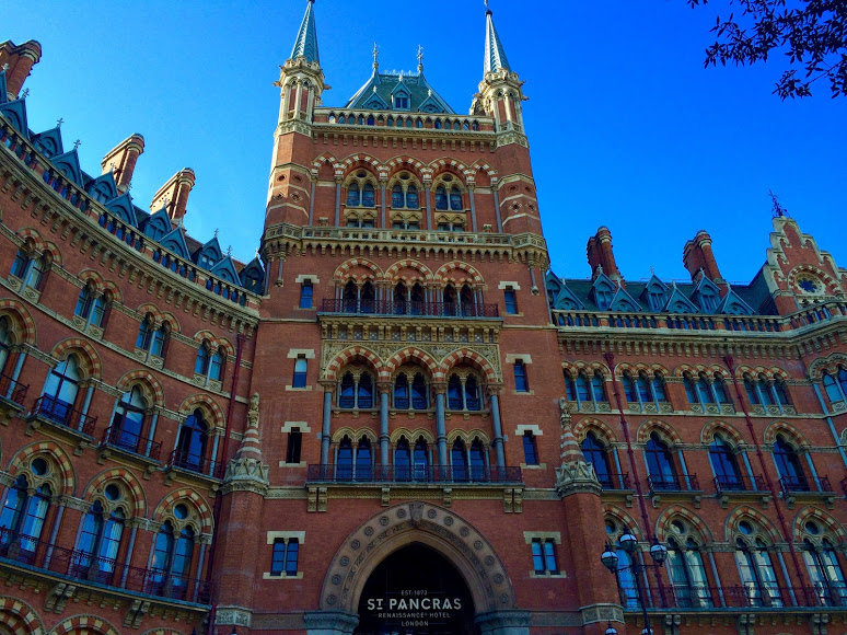 Things to do near kings cross St Pancras St Pancras Station