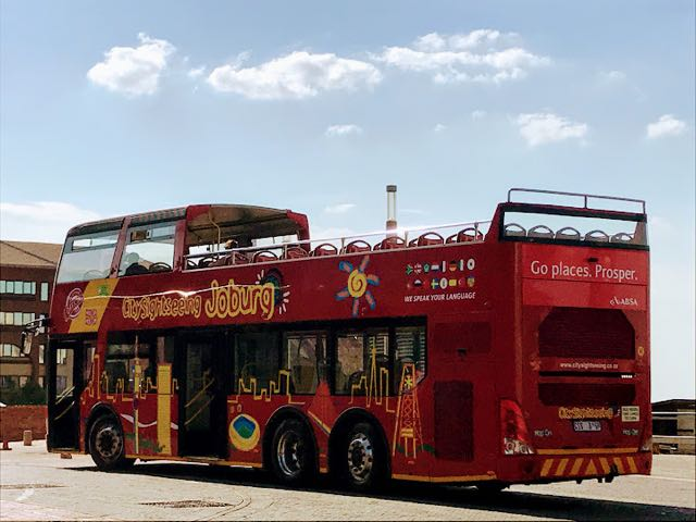 10 Best activities in Johannesburg for Touritsts Hop On Hop off Johannesburg City Sightseeing Bus