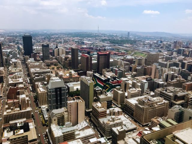 Best tourist activities in Johannesburg top of africa views of Johannesburg