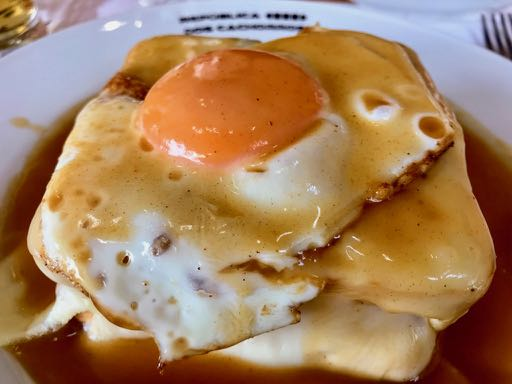 Alternative things to do in porto - francesinha