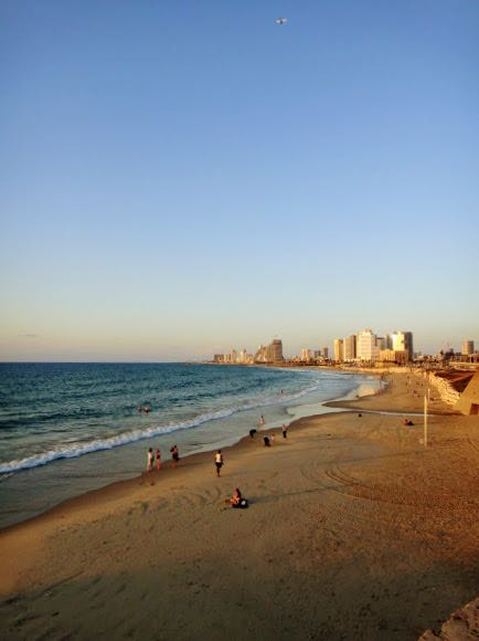 Best Cities with Beaches - Tel Aviv Beach