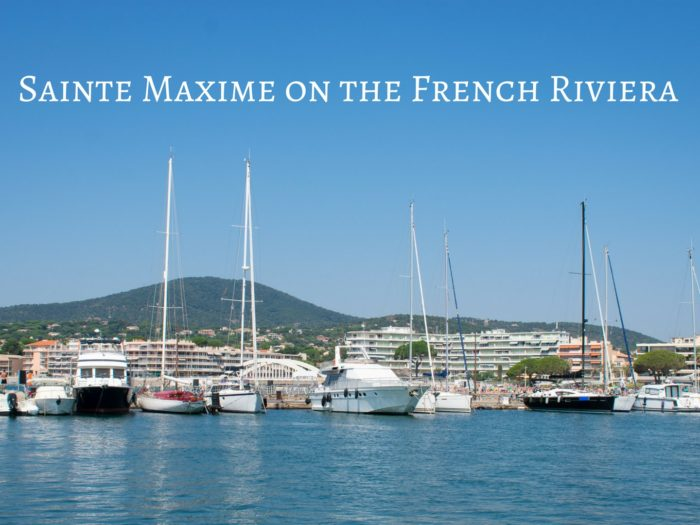 Sainte Maxime villa on the French Riviera