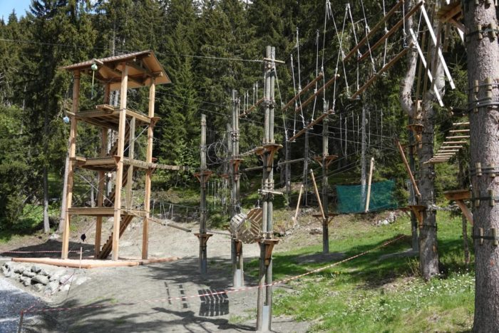 Things to do in Verbier in Summer Aerial walkway