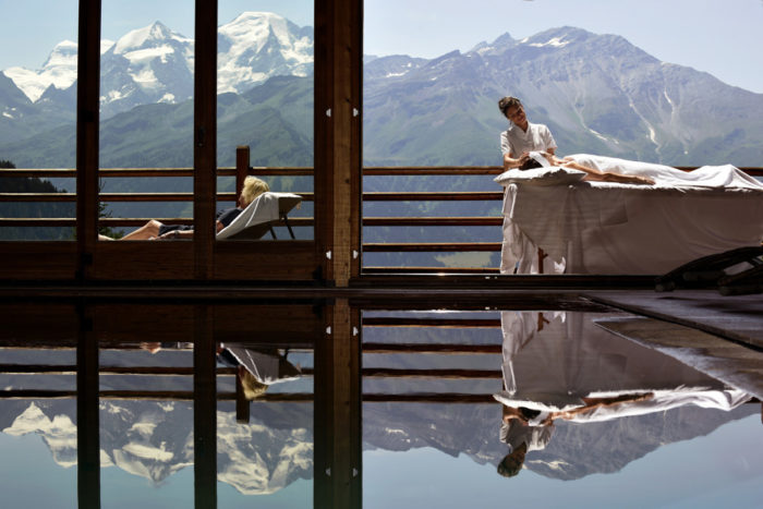 Things to do in Verbier in Summer Chill out at a spa hotel