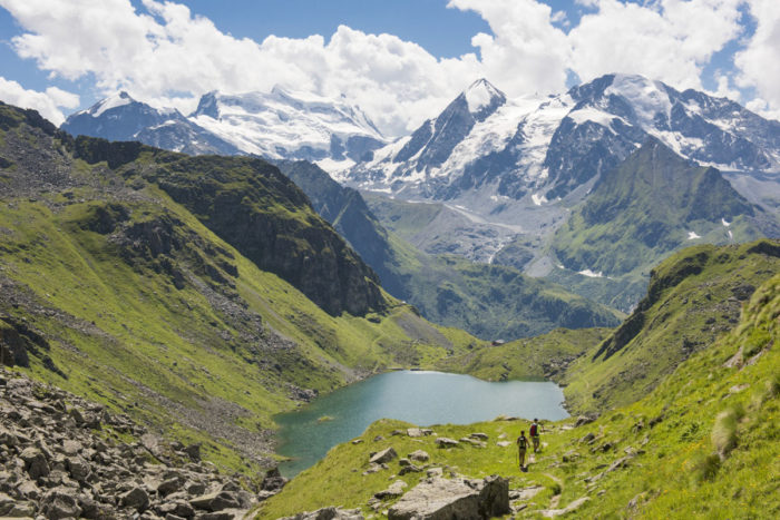 Things to do in Verbier in Summer Sentier des Chamois hike