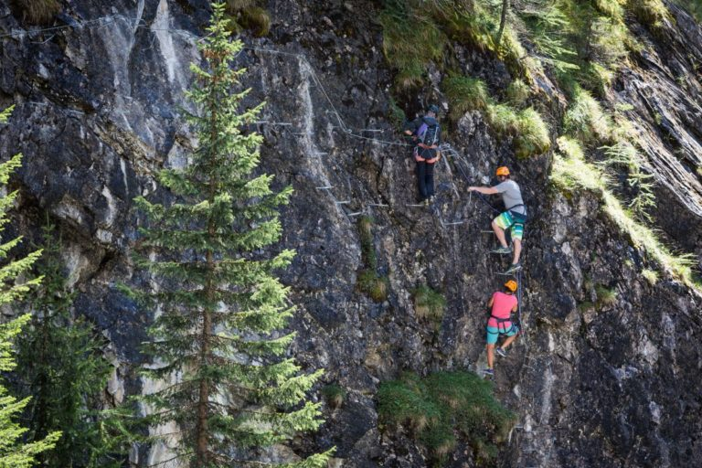 Things to do in Verbier in Summer Via Ferrata de Mauvoisin