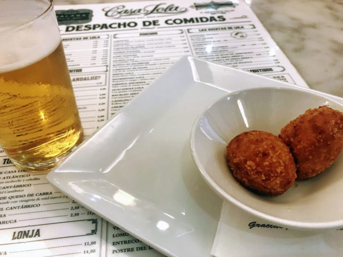 Where to eat in malaga tapas Casa Lola