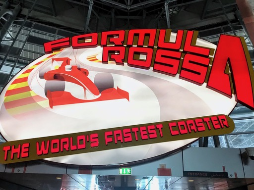 things to do in Dubai - abu dhabi ferrari world fastest roller coaster