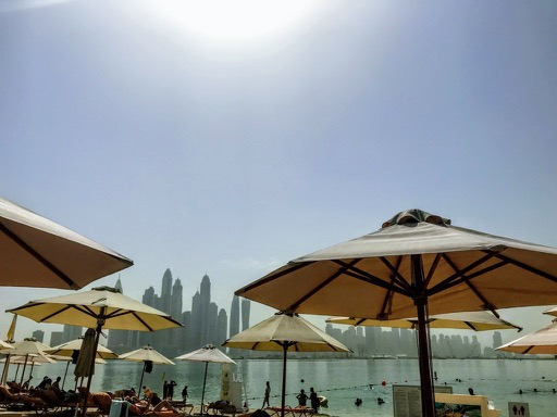 things to do in Dubai - beach