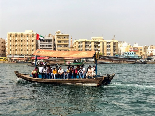 things to do in Dubai - dubai creek abra