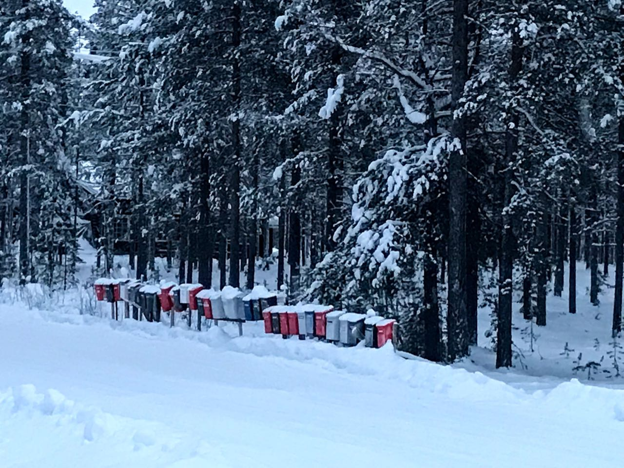 What to Wear in Lapland - A Snow Trip Packing List Postboxes