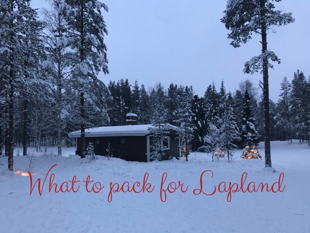 What to pack for Lapland main