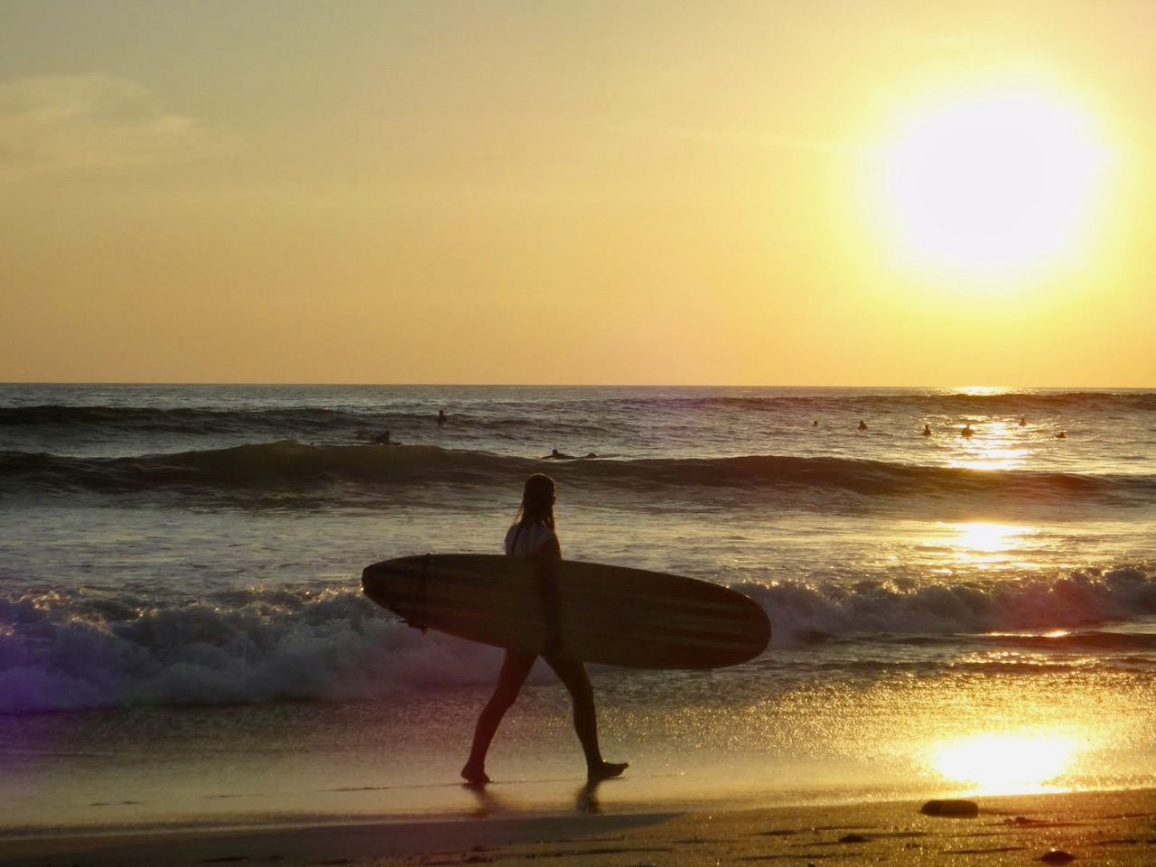 I'd like to get back on a surf board after my ACL surgery recovery