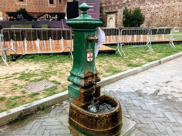 Things To Do In Milan Drinking Fountains