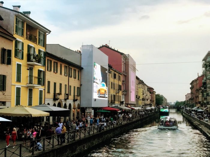 Things To Do In Milan Navigli Canal Boat tour