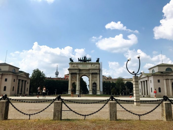 Things To Do In Milan Triumph arch