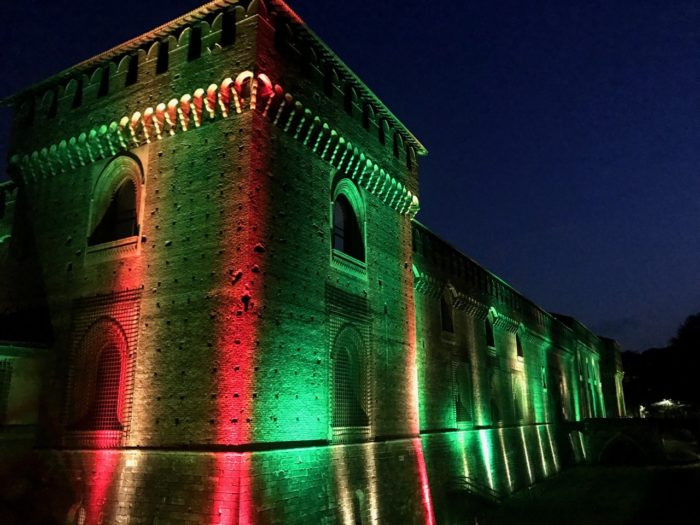 Things To Do In Milan at night Sforza Castle